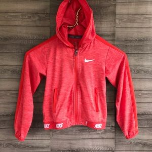 Nike | Kids Dri Fit Lightweight Zip Up